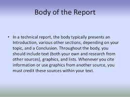 B    Technical Communication  Reports writing templates report writing template report writing format