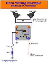 horn wiring diagram wire car horn wiring diagram manual