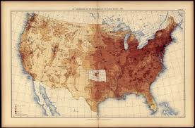 Population Density Map United States by 1890 U2013 The 1890 Census Disease Maps Brian Altonen Mph Ms