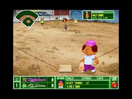 Original Backyard Baseball by Backyard Baseball 1997 Pc Review And Full Download Old Pc Gaming