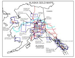 Juneau Alaska Map by Alaska Gold Maps Alaska Gold Panning Alaska Gold Prospecting