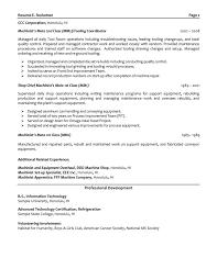 Sample Test Manager Resume by Download Boeing Mechanical Engineer Sample Resume