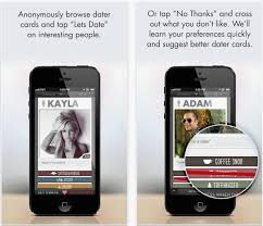 This iOS dating service takes a page or two from Tinder by allowing users to approve or remove potential dates with just a swipe  It also requires that you     iDownloadBlog