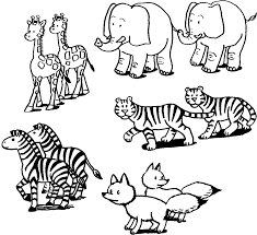 animal printouts for noah u0027s ark visit coloringlab com printable