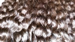 Grey Human Hair Extensions by Machine Weft For Steam Curly Human Hair Real Hair Virgin Human Hair