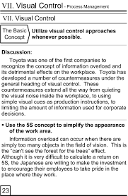 toyota company overview the pocket guide to toyota u0027s management principles the toyota way