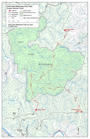 Newport Oregon Map by Siuslaw National Forest Trail Maps