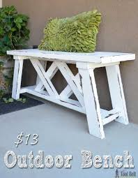 Free Wooden Garden Chair Plans by Best 25 Outdoor Benches Ideas On Pinterest Outdoor Seating