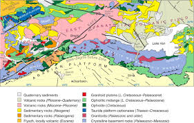 Tectonic Plate Map Seismic Structure Crustal Architecture And Tectonic Evolution Of