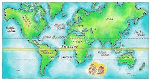 Egypt On A World Map by 13 Countries On The Earth U0027s Equator