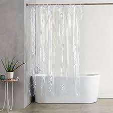 amazon com interdesign peva 3 gauge shower curtain liner mold