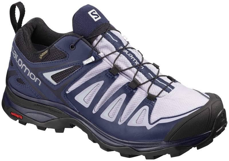 Salomon X Ultra 3 GTX Hiking Shoe Languid Lavender/Crown Blue/Navy Blazer Medium 5.5 L40676100-5.5