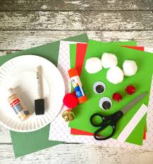 elf paper plate craft for kids