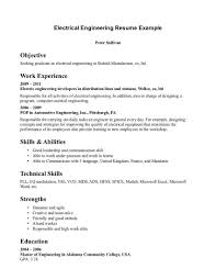 power plant electrical engineer resume sample example resume of electrical engineer frizzigame electrical engineering resume template how to make resume for for