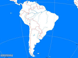 Political Map Of South America South America Political Map A Learning Family