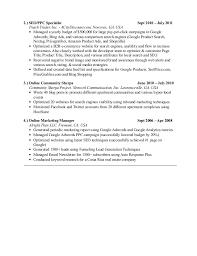 Online Marketing Manager Resume by Steven Sentosa Resume Sem Manager