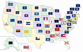 State Map United States by Flags Of The U S States And Territories Wikipedia