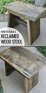 Diy Reclaimed Wood Storage Bench by Best 25 Reclaimed Wood Projects Ideas On Pinterest Barn Wood