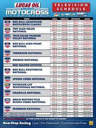 ama motocross online lucas oil pro motocross 2017 pro motocross broadcast schedule
