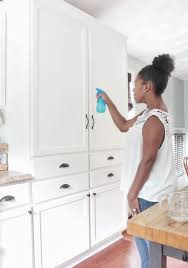 how to keep those painted cabinets u201cbrite u201d and white with scotch