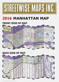 Map New York City by Streetwise Manhattan Map Laminated City Street Map Of Manhattan