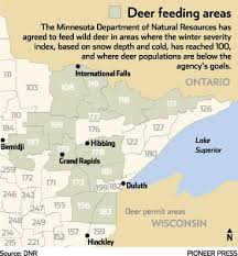 feed deer minnesota dnr sigh u2013 twin cities