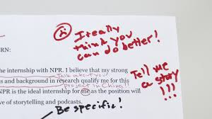 Writing A Cover Letter For An Internship How To Get An Internship At Npr Ed Npr Ed Npr