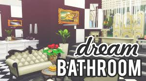 the sims 4 room build dream bathroom youtube