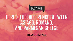 difference between christmas and thanksgiving here u0027s the difference between asiago romano and parmesan cheese