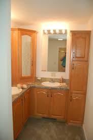 corner bathroom vanity sink home design ideas and pictures