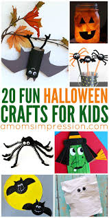 Halloween Crafts For Kid by 213 Best Halloween Crafts Images On Pinterest Halloween Crafts
