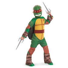 Halloween Ninja Turtle Costume Teenage Mutant Ninja Turtle Raphael Kids Costume Vinyl Mask