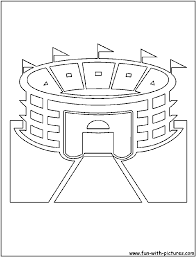 baseball field coloring pages baseball field coloring pages