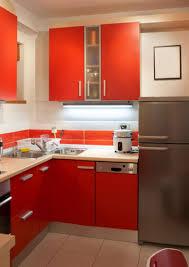 kitchen enjoyable small kitchen design with u shape brown