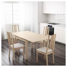 Ikea Kitchen Birch Bjursta Extendable Table Birch Veneer Ikea