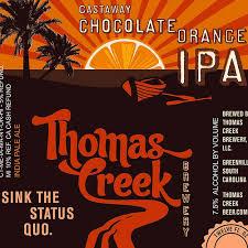 Thomas Creek to bottle Castaway Chocolate Orange IPA | Drink. Blog