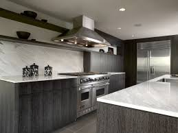 two tone kitchen grey cabinets with white counters outofhome