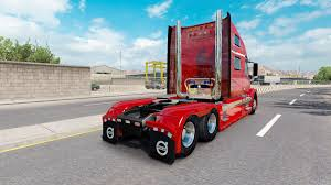 american volvo trucks red fantasy v2 0 for volvo truck vnl 780 for american truck simulator