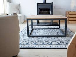 how to build a modern industrial coffee table how tos diy