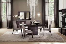 Concrete Dining Room Table Contemporary Dining Room Table Decor For Design Ideas Inside