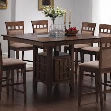 unique dining room tables bar height round pub set amp throughout