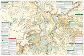Canyonlands National Park Map Moab South National Geographic Trails Illustrated Map National