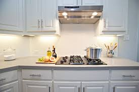 Subway Tiles Kitchen Glass Tile By  Absolutely Brilliant - Kitchen with backsplash