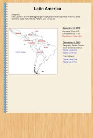 Central America Map Quiz by Latin America December 16 2013 Geography Ppt Download