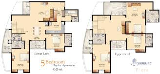 How To Draw A Floor Plan For A House Presidency Flora 2 3 5 Bedroom Flats Apartments Ranging From