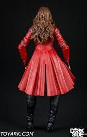 marvel scarlet witch costume marvel legends scarlet witch photo shoot the toyark news