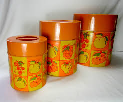 Country Canister Sets For Kitchen Unavailable Listing On Etsy Retro Nesting Kitchen Canister Set