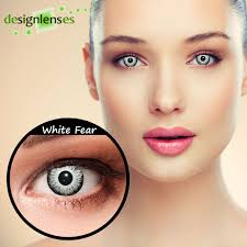 white contact lenses halloween crazy contact lenses design white fear