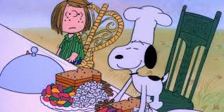 thanksgiving ties a 40 year thanksgiving feast peanuts style huffpost