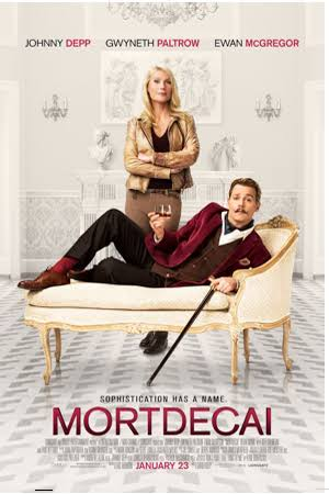 Mortdecai 2015 BluRay 720p 450MB Dual Audio ( Hindi – English ) ESubs MKV